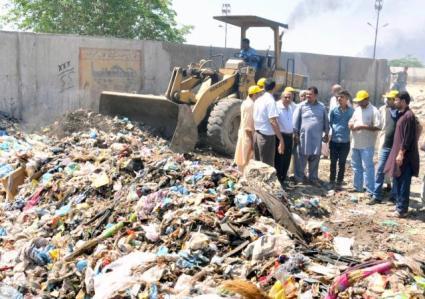 Karachi sanitary conditions