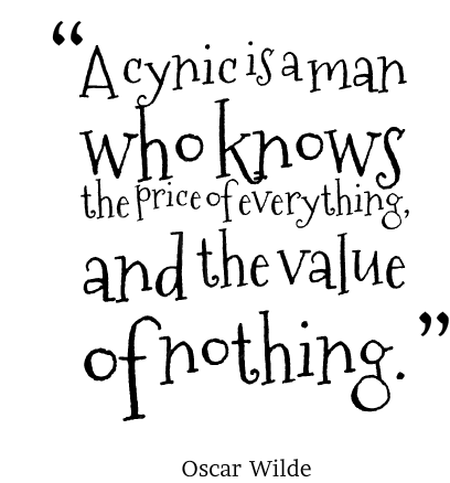 cynic-quote-oscar-wilde